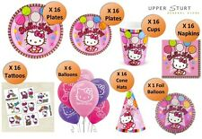 Hello Kitty MEGA Party Pack 103 Piece 16 Person Party Supplies FREE DELIVERY