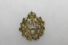 Original WW2 Royal Canadian Air Force Metal Cap Insignia Badge w/Rear Pin