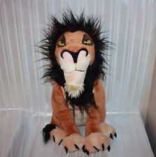 "Disney Store Exclusive THE LION KING Large 18"" SCAR Plush"