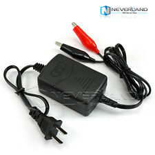 Car Truck Motorcycle 12V/1.3A Smart Compact Battery Charger Tender Maintainer