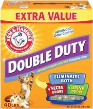 Arm and Hammer Double Duty Litter, 40 Lbs