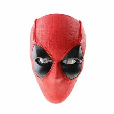 New Red Fabric Plastic Paintball Airsoft Full Face Protection Mask Halloween