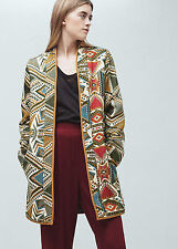 Mango Embroidered Jacket Size S Box4627 D