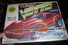 MPC Turbo Vette Corvette 1980 1/20 MODEL CAR MOUNTAIN KIT