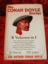 Arthur Conan Doyle Stories - First Printing with RARE Original Dust Jacket