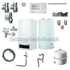 Buderus GAS VAILLANT dispositivo Logamax plus GB 172 20kw con memoria 120 rc300 w22