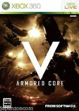 Used Xbox 360 Armored Core V MICROSOFT JAPAN JP JAPANESE JAPONAIS IMPORT