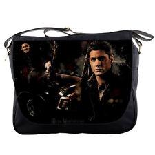 Jensen Ackles Supernatural Mens Girls Messenger Bag Shoulder School Notebook