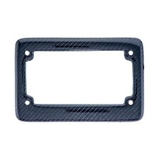 JDM Style 100% Real CARBON FIBER License Plate Frame #Px25 US Scooter Motorcycle