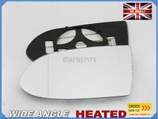 Wing Mirror Glass Vauxhall Zafira A 1999-05 Wide Angle HEATED Left Side #F017