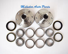 Front Left & Right Wheel Hub and Front Wheel Bearing set For KIA RIO 2001-2002