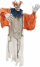 Halloween Lifesize Non-Animated HANGING CREEPY CLOWN 60 inch Prop Haunted House