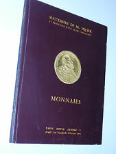 1978 CATALOGUE MONNAIES D'OR succession Squier HOTEL GEORGES V paris ADER page