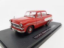 Rare 1:43 Ebbro Model Toyopet Masterline Double pick up 1959 Red 44432