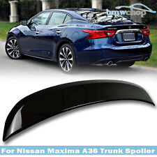Painted #GAB For Nissan Maxima A36 8th 4D OE-Look Rear Trunk Spoiler Wing 16-17