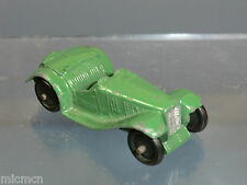 "VINTAGE DINKY TOYS MODEL  No.35c  MG SPORTS CAR   ""R TYPE"" ( Green Version)"