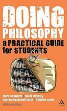 Doing Philosophy: A Practical Guide for Students, , Ross, George MacDonald, Moss