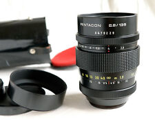M42 *  PENTACON 2.8 / 135mm * 15 blades * most modern, YELLOW numbers* ESP. NICE