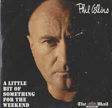 PHIL COLLINS PROMO CD ALBUM A LITTLE BIT OF SOMETHING FOR THE WEEKEND