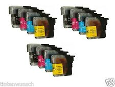12 libre elección de color para Brother DCP-J 515w MFC-J 315w XL dcp-j125 mfc-j220