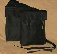 Nylon Western Horse Saddle Bag Waterproof Trail Riding Camping BLACK New Tack