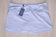 Polo Ralph Lauren - L - NWT $145 - Gray & Neon Orange Logo Pony Skort Skirt
