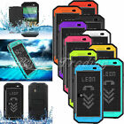Waterproof Shockproof Smart Dot View Case Hard Cover w/ Kickstand For HTC One M8