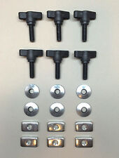 1997 to 2006 Jeep Wrangler TJ Jeep Wrangler Hard Top Thumb Screws/Nuts/Washers