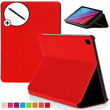 Red Clam Shell Smart Case Cover Huawei MediaPad T1 7.0 Plus + Stylus