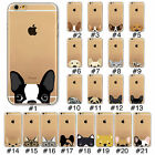 Lovely Animal Design Clear Soft TPU Case Cover For iPhone 4S SE 5S 5C 6/6S Plus