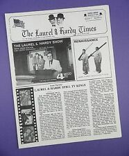 The Laurel & Hardy Times No. 3 - Club Members Only - Original 1970s Unused Stock