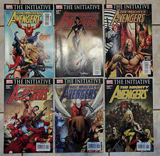 THE INITIATIVE: THE MIGHTY AVENGERS #1-6 MARVEL COMICS