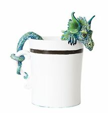 Good Morning Dragon Tea Cup Statue Figurine. Amy Brown Licensed Art Collection