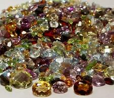 50+ CARAT MIX LOT LOOSE FACETED NATURAL GEMSTONES MIXED GEMS WHOLESALE GEMSTONES