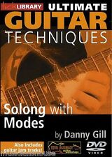 LICK LIBRARY ULTIMATE GUITAR TECHNIQUES SOLOING With MODES Learn to Play Jam DVD