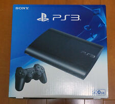 NEW SONY PS3 Playstation 3 500GB Console System Charcoal Black CECH4300C JAPAN