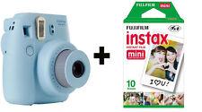 Fuji Fujifilm Instax Mini 8 Instant Camera with 10 Shots - Blue