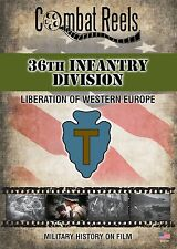 36th Infantry Division WWII Combat DVD Southern France