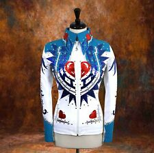 2X-LARGE Showmanship Pleasure Horsemanship Show Jacket Shirt Rodeo Queen Western