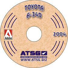ATSG Toyota A-340 A340 A340E A340H Automatic Trans Rebuild Overhaul Manual CD