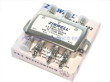 SW34 3x4 MULTI-SWITCH QUAD OUTPUT LNB ZINWELL FTA MS34