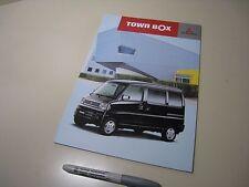 Mitsubishi TOWN BOX Japanese Brochures 2005/12 U61/62W 3G83 Kei K-Car