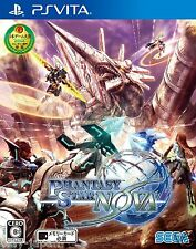 New PS Vita Phantasy Star Nova Japan Import