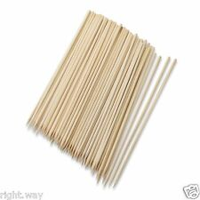 "8"" Bamboo Skewers 100 pack - Shish Kabob Wood Stick BBQ Barbecue Wooden Skewer"