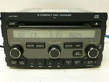 OEM HONDA PILOT XM RADIO 6 CD DISC CHANGER STEREO PLAYER HEAD UNIT 06 07 208