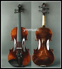 Antique Style - Beautiful 4/4 Hand Made & Varnished Violin / Free Bow & Case
