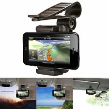 Universal Car Sun Visor Phone Clip Holder Mount Stand For Mobile Phone GPS PDA