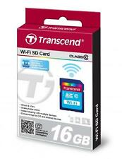 16GB Transcend Wi-Fi SD card SDHC CL10