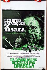 Hammer : C Lee : Satanic Rites Of Dracula : POSTER