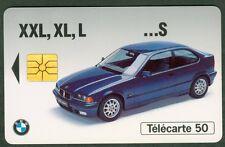 TELECARTE 50 UNITES  EN 980  BMW     VIDE